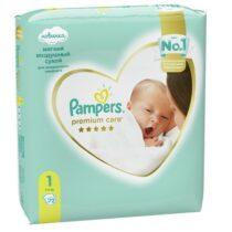 pampers-premium-care-1-newborn-72-(2-5кг)