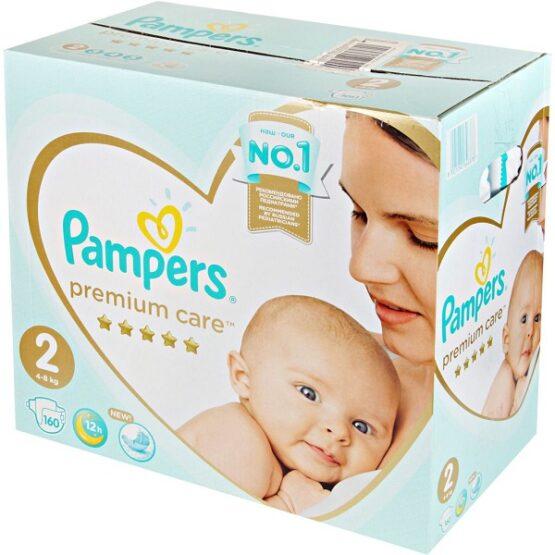 pampers-premium-care-2-mini-160-(4-8кг)