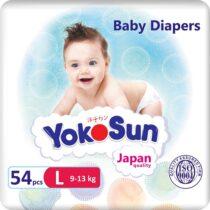 YokoSun-podguzniki-dlya-detej-L-54-sht(9-13kg)