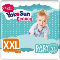 YokoSun-trusiki-dlya-detej-XXL-econom-32-sht(15-25kg)