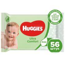 vlazhnye-salfetki-huggies-ultra-comfort-s-aloe-i-vitaminom-E-56sht